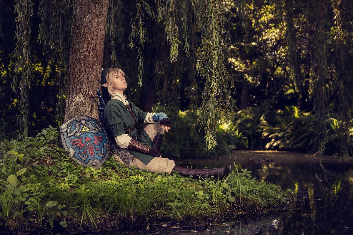 Matsuri Artworks and Cosplay as Link from Twilight Princess