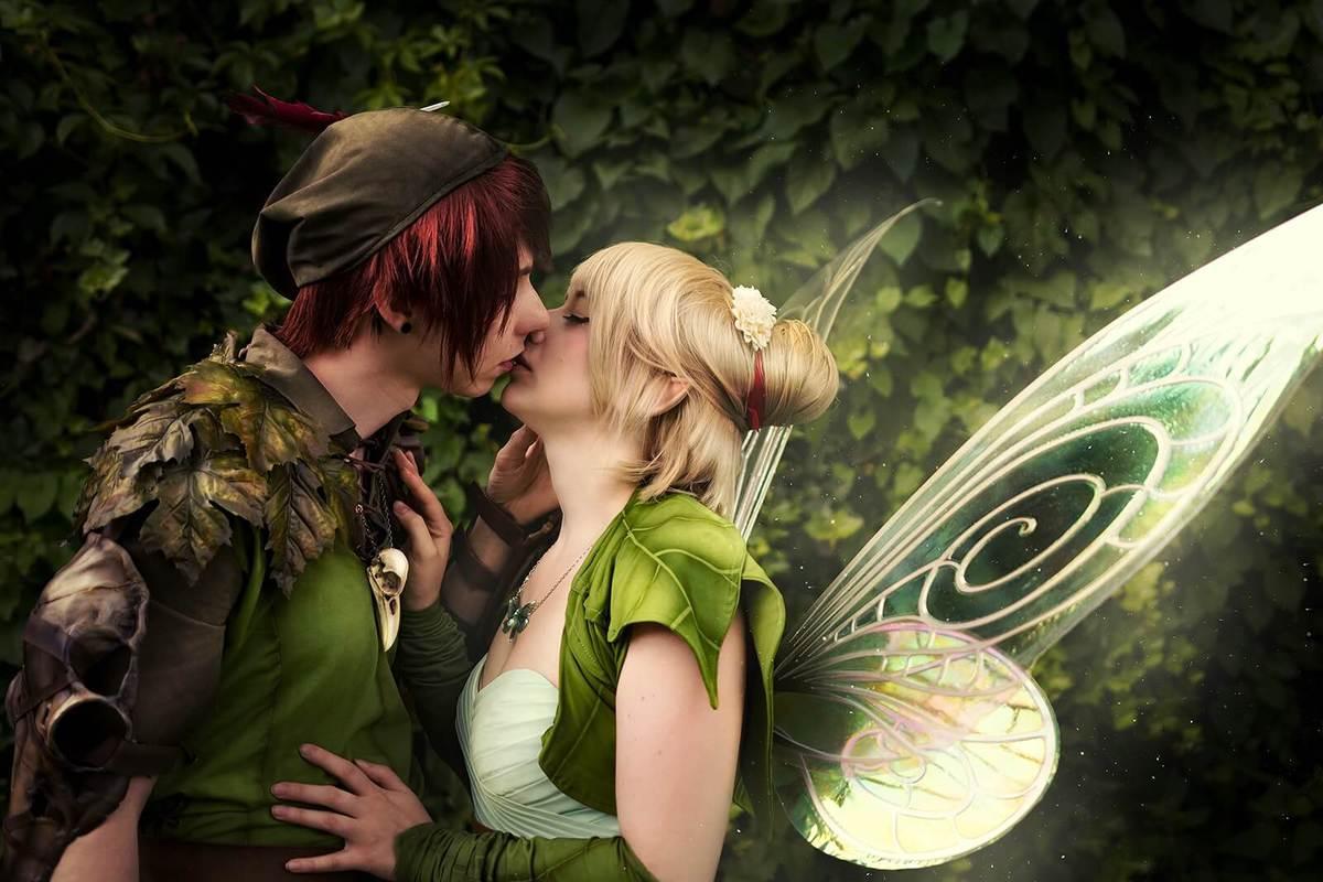 Fancy Shadows Cosplay as Peter Pan & Tinkerbell