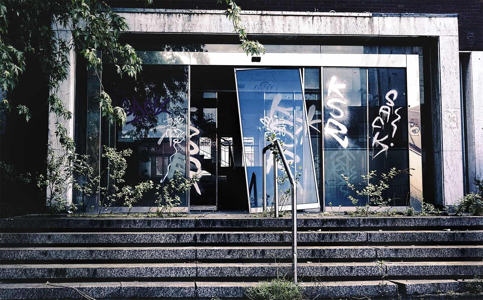 Lost Place - Tierfutter Fabrik Office