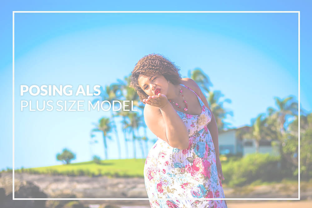 Posen als Plus Sized Model