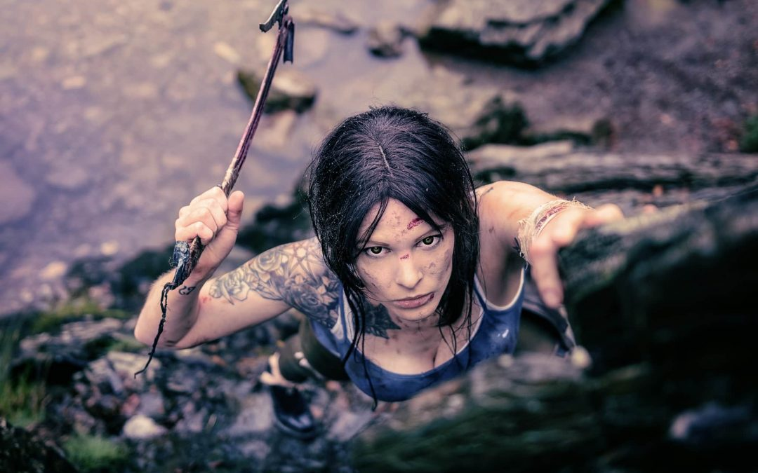 Behind the Scenes – Lara Croft shooting mit Monono Creative Arts