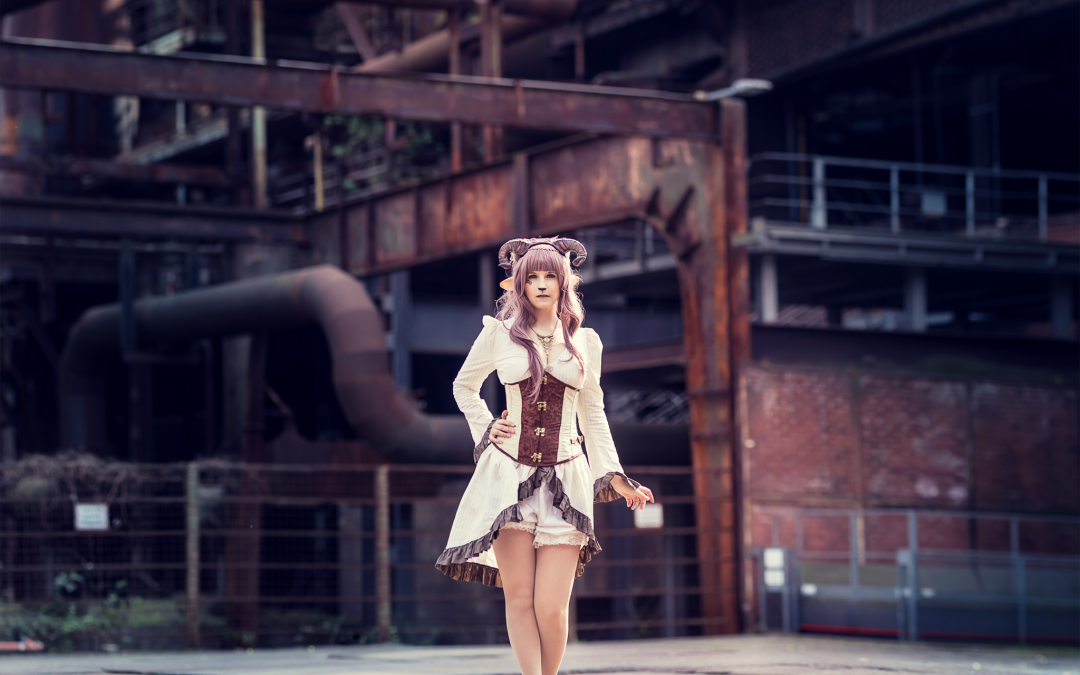 Behind the Scenes – Steampunk Faun und Fashion Shoot